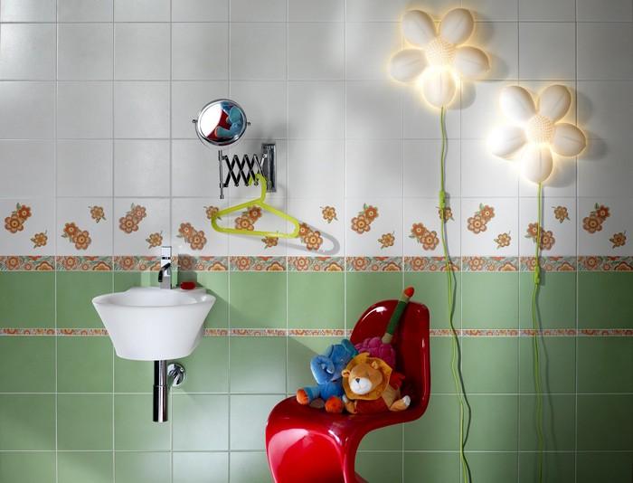Керамическая плитка в интерьере вашего дома 72