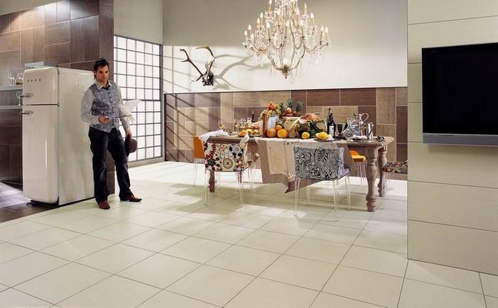 Керамическая плитка в интерьере вашего дома 73