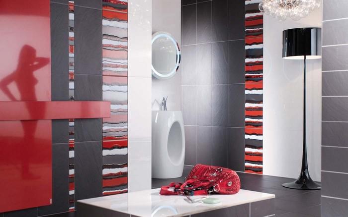 Керамическая плитка в интерьере вашего дома 74