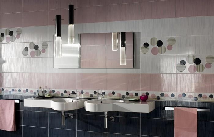 Керамическая плитка в интерьере вашего дома 75