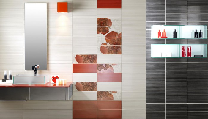 Керамическая плитка в интерьере вашего дома 78