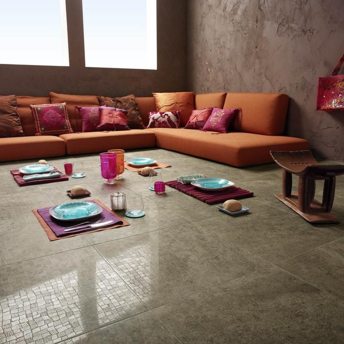 Керамическая плитка в интерьере вашего дома 79