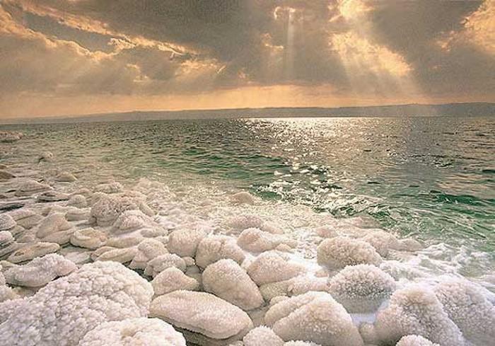 Целебная вода Мертвого моря 2