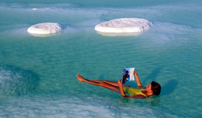 Целебная вода Мертвого моря 4