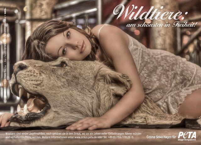 Креативная реклама от PETA 2