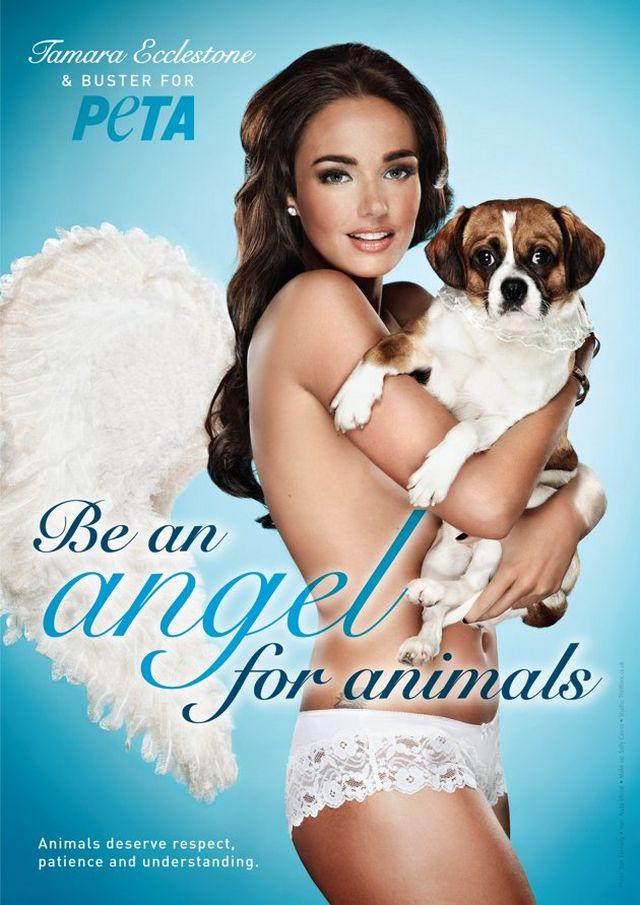Креативная реклама от PETA 10