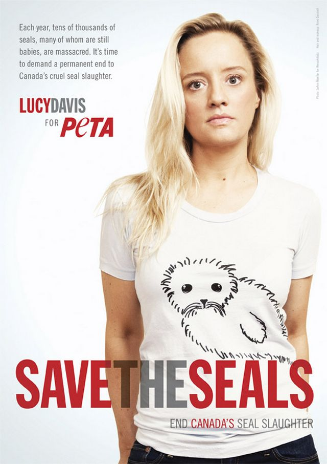 Креативная реклама от PETA 14