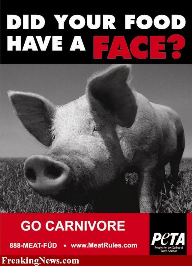 Креативная реклама от PETA 16