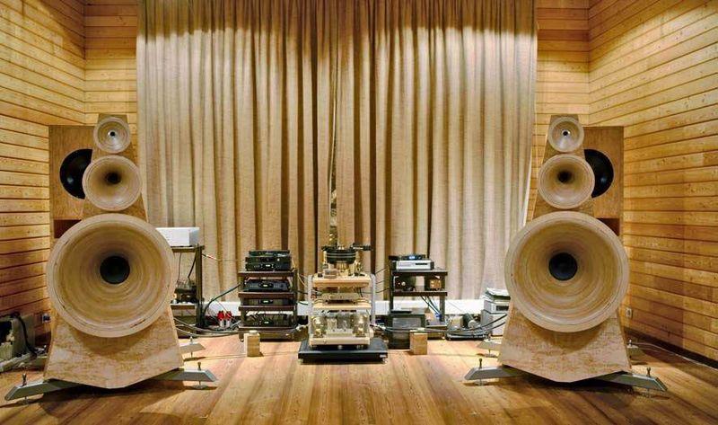 Рупорная акустика для дома своими руками