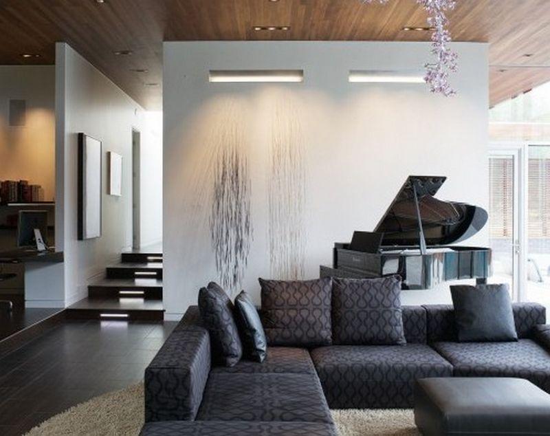 Рояль в интерьере вашего дома 2
