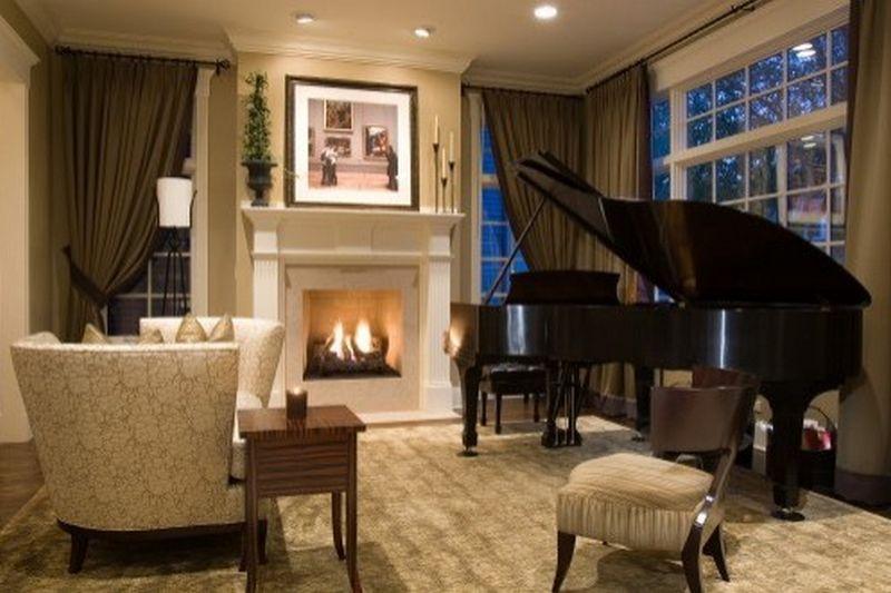 Рояль в интерьере вашего дома 4