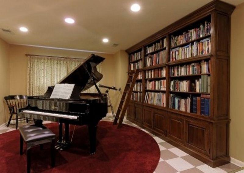 Рояль в интерьере вашего дома 5