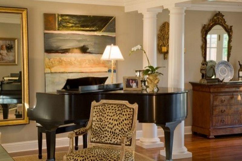 Рояль в интерьере вашего дома 6