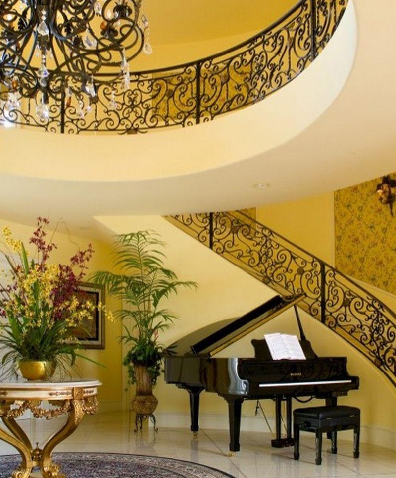 Рояль в интерьере вашего дома 7