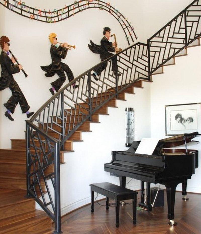 Рояль в интерьере вашего дома 12