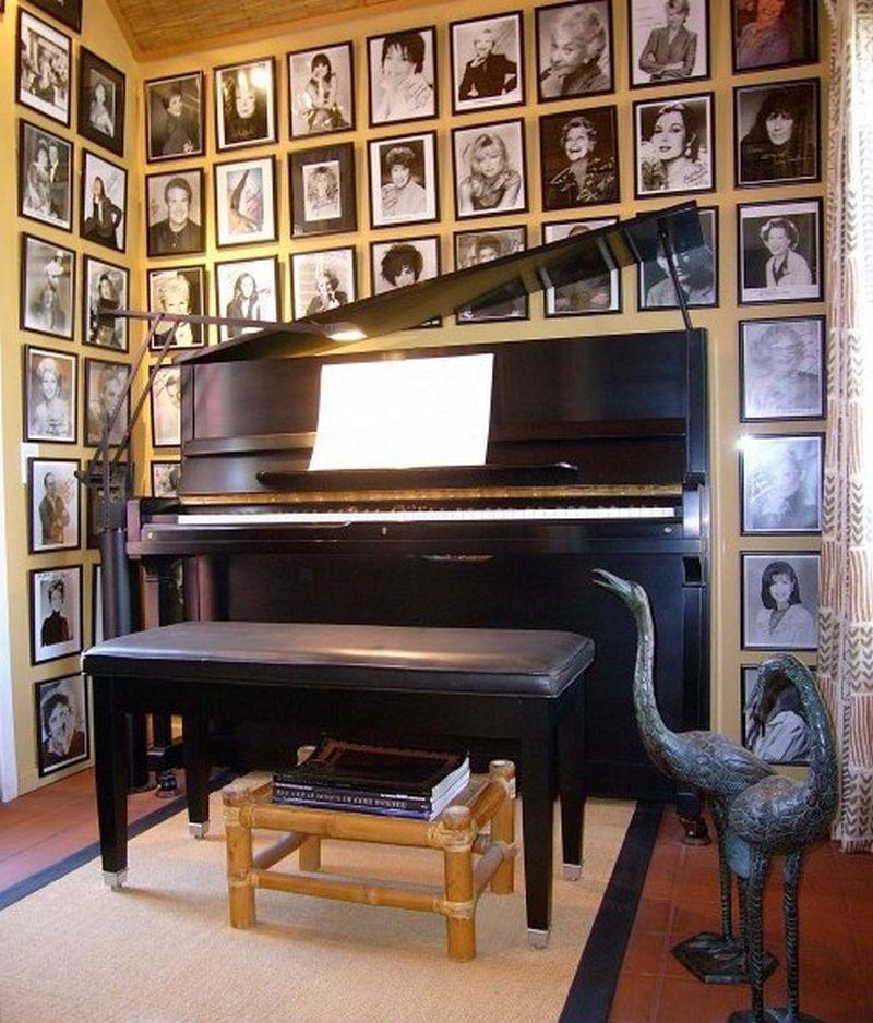 Рояль в интерьере вашего дома 15