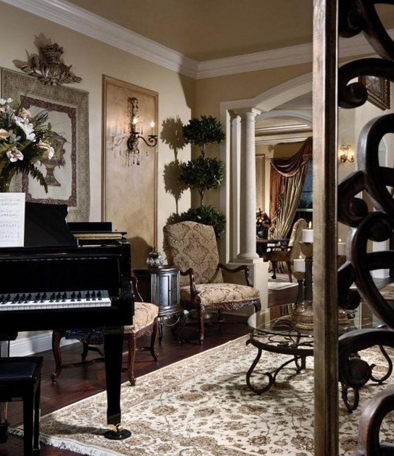 Рояль в интерьере вашего дома 16
