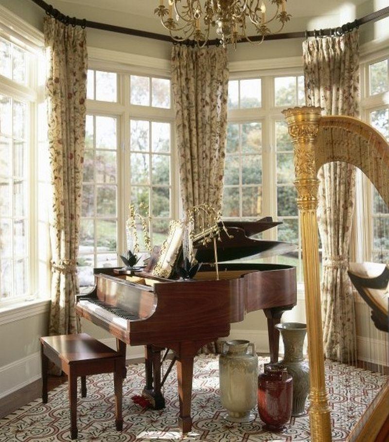 Рояль в интерьере вашего дома 23