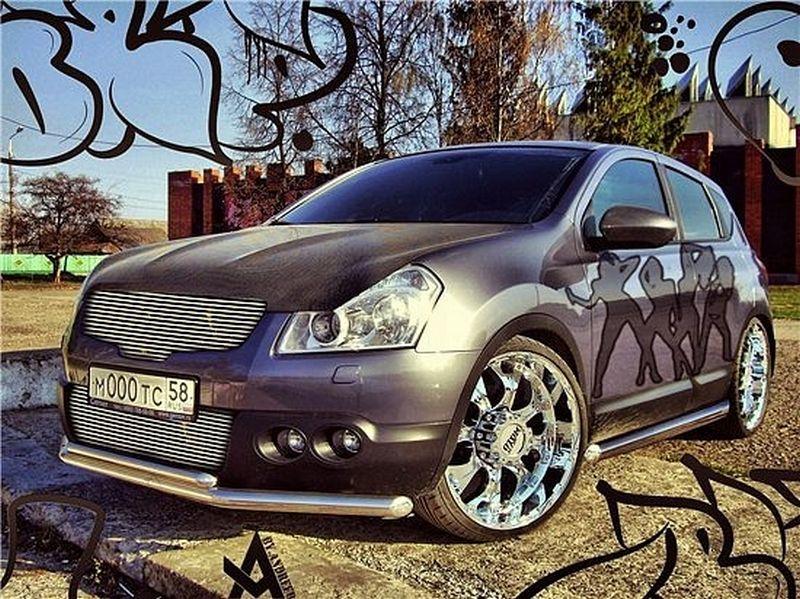 Красивый тюнинг Nissan Qashqai 10