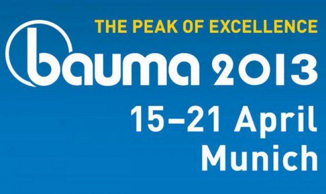 Не пропустите юбилейную 30-ю выставку BAUMA 2013 1