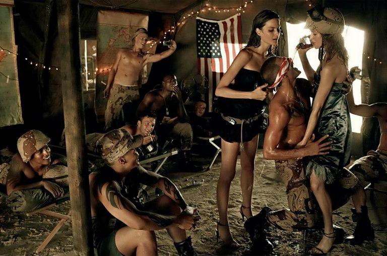 Знаменитый фэшн-фотограф Steven Meisel 14