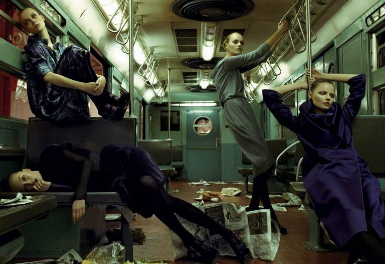 Знаменитый фэшн-фотограф Steven Meisel 27