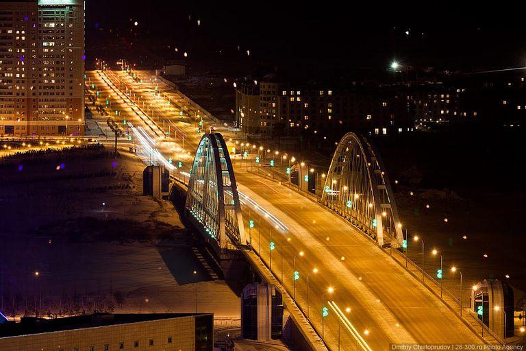 Ночной город - Атстана 1