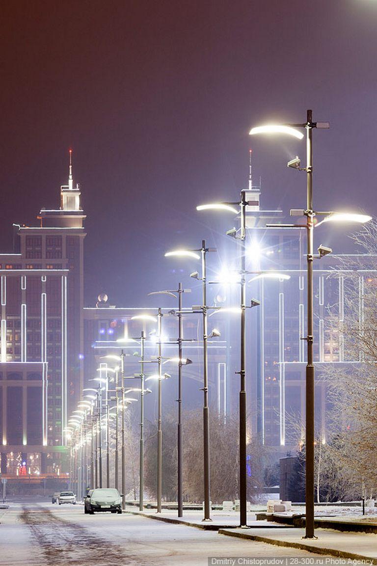 Ночной город - Атстана 2