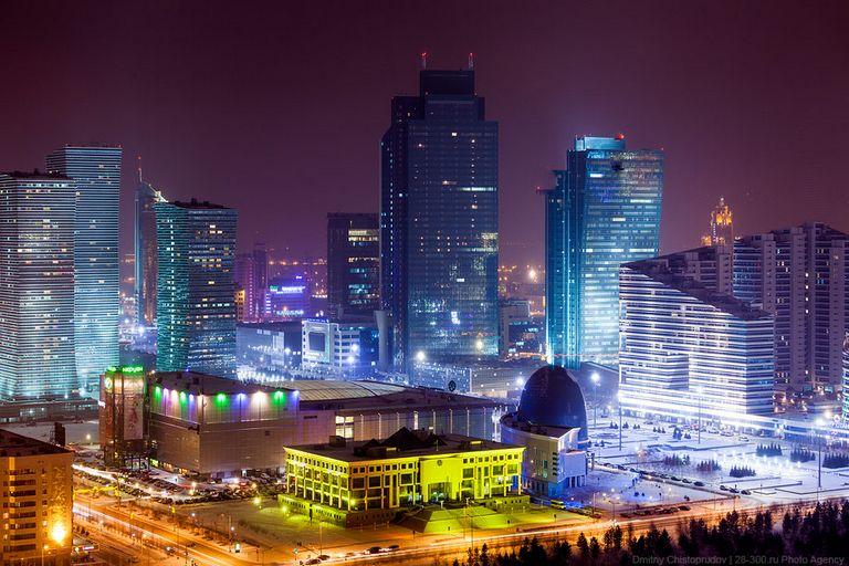 Ночной город - Атстана 5
