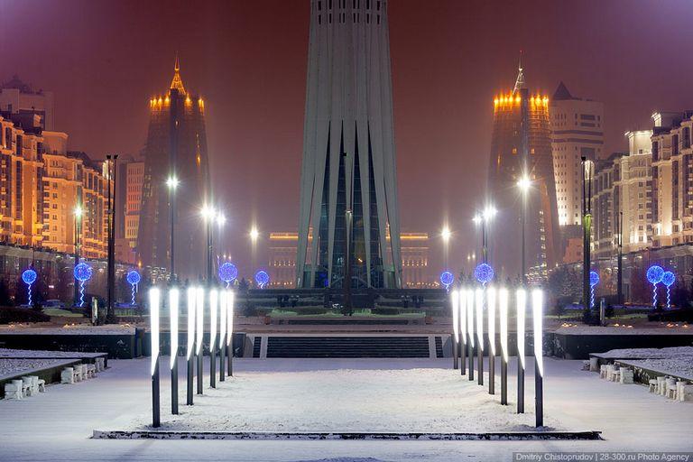 Ночной город - Атстана 7
