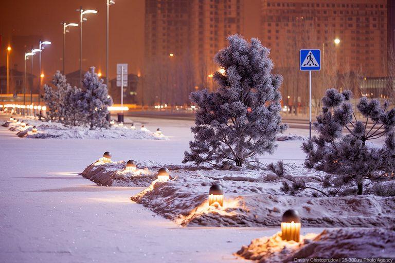 Ночной город - Атстана 10