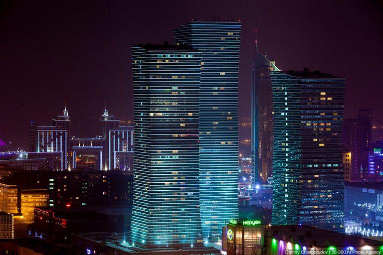 Ночной город - Атстана 15