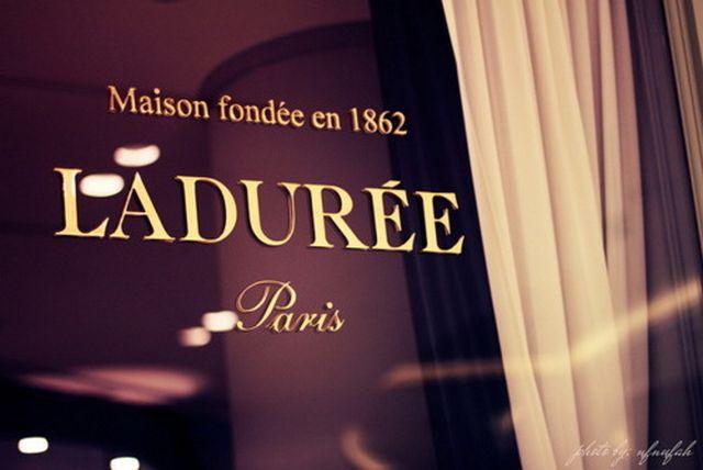 Laduree - самая знаменитая кондитерская Парижа 1