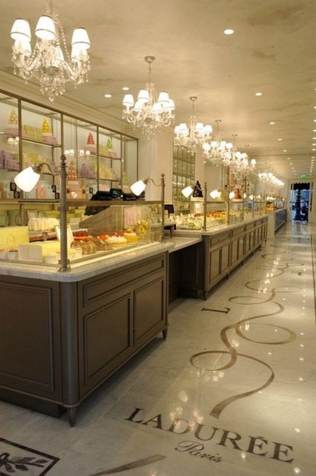 Laduree - самая знаменитая кондитерская Парижа 4