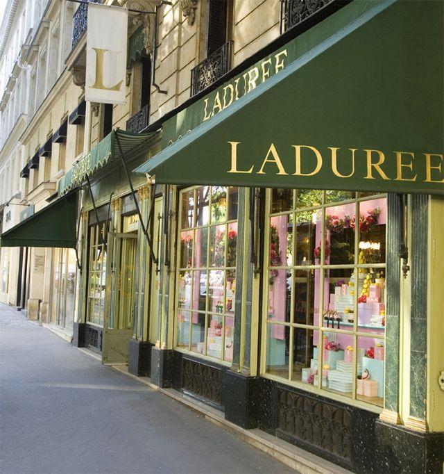 Laduree - самая знаменитая кондитерская Парижа 10