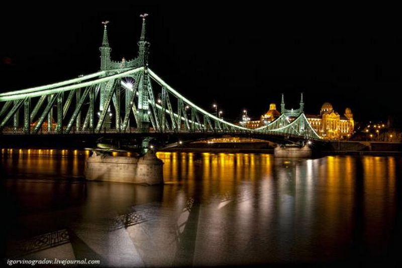 Ночной Будапешт - прогулки по венгерской столице 1