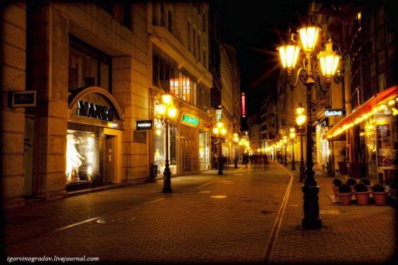 Ночной Будапешт - прогулки по венгерской столице 3