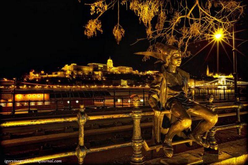 Ночной Будапешт - прогулки по венгерской столице 4