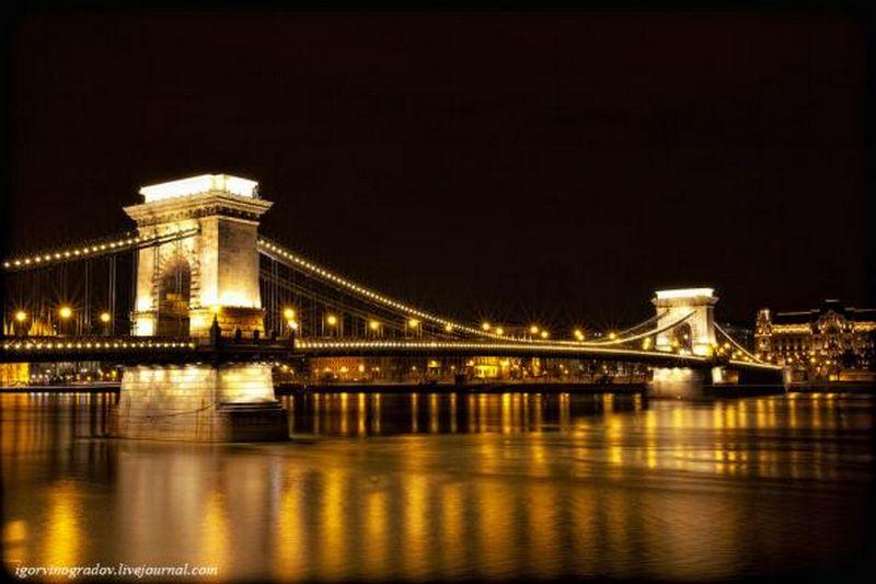 Ночной Будапешт - прогулки по венгерской столице 5