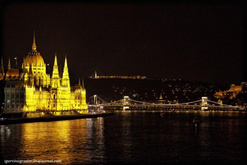 Ночной Будапешт - прогулки по венгерской столице 6