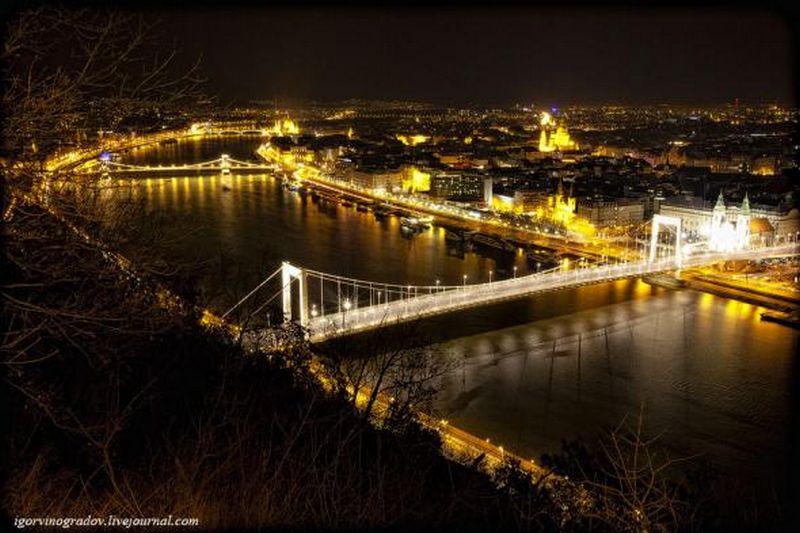Ночной Будапешт - прогулки по венгерской столице 7