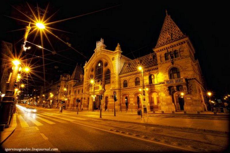 Ночной Будапешт - прогулки по венгерской столице 9