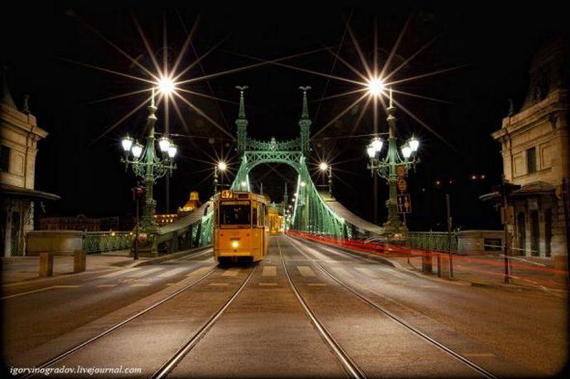 Ночной Будапешт - прогулки по венгерской столице 11