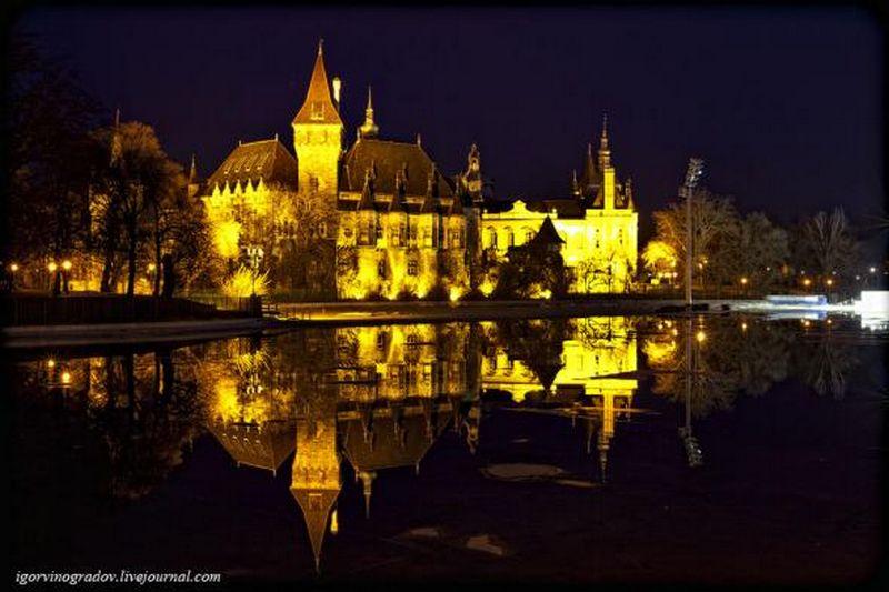 Ночной Будапешт - прогулки по венгерской столице 12
