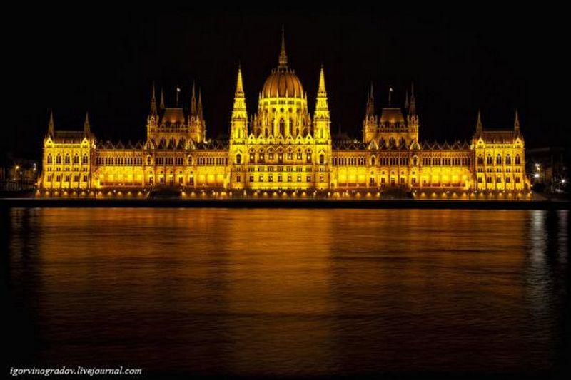Ночной Будапешт - прогулки по венгерской столице 13