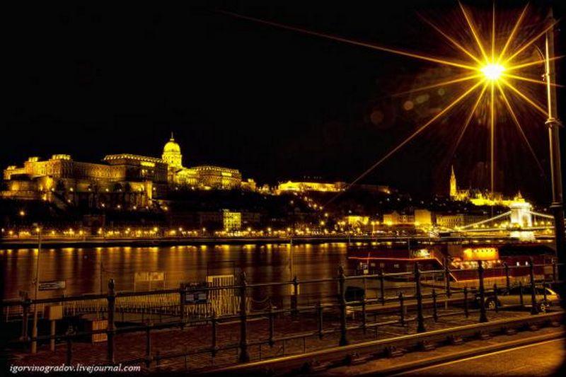 Ночной Будапешт - прогулки по венгерской столице 14