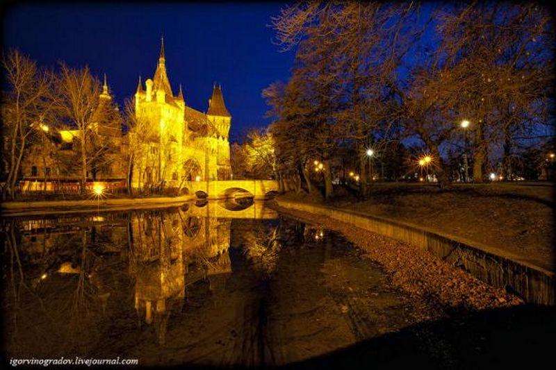 Ночной Будапешт - прогулки по венгерской столице 16