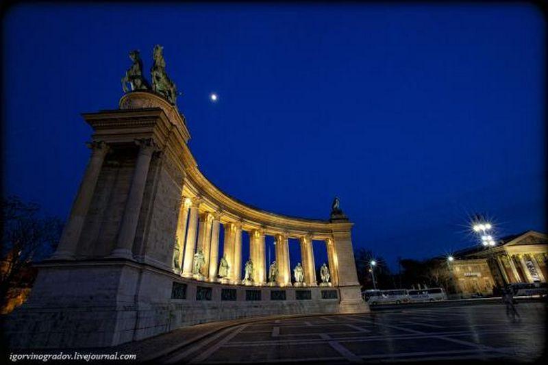 Ночной Будапешт - прогулки по венгерской столице 17