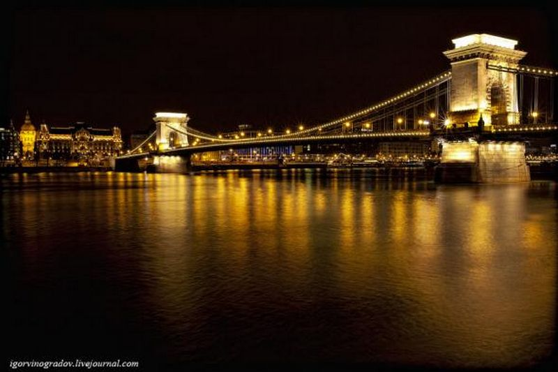 Ночной Будапешт - прогулки по венгерской столице 18