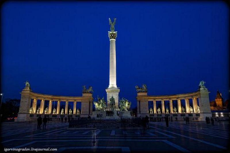 Ночной Будапешт - прогулки по венгерской столице 19